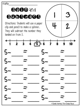 Subtraction Practice for Beginners