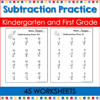 Subtraction Practice for the Common Core