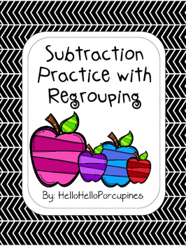 Subtraction Practice with Regrouping
