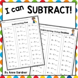 Math Fact Practice: Subtraction to Twenty {Subtracting Zero through Ten}