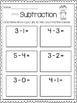 Subtraction Print & Practice: Drawing Pictures