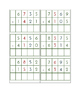 Subtraction Problem Set - 72 Static & Dynamic Subtraction Cards
