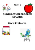 Subtraction Problem Solving Word Problems