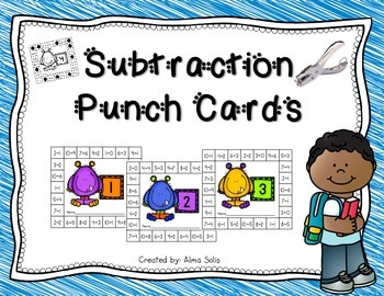 Subtraction Punch Cards