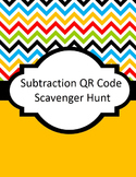 Subtraction QR Code Scavenger Hunt