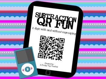 Subtraction QR Fun