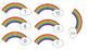 Subtraction: Rainbow and Pot of Gold