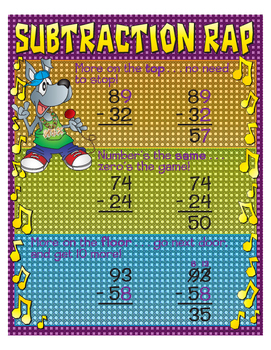 "Subtraction Rap- 18"" x 23"""