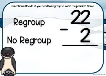 Subtraction Regrouping Boom Cards
