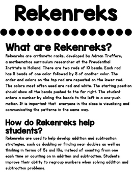 Subtraction Rekenrek (NEW)