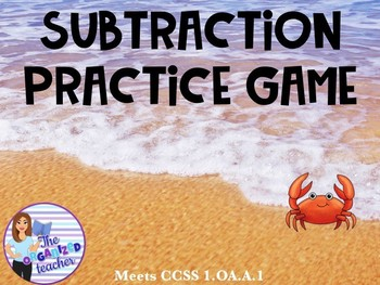 Subtraction Review PowerPoint Game- Editable!