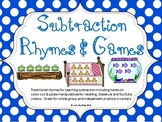 Subtraction Rhymes, Games and Centers