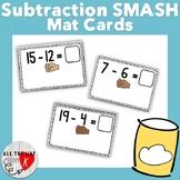 Subtraction SMASH Mat Cards (20 through 1)