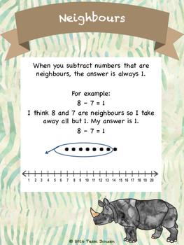 Subtraction Safari - Subtraction Strategies