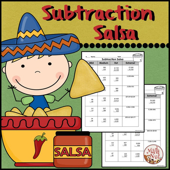 """Subtraction with Regrouping """"Differentiated Practice"""""""