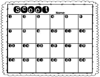Subtraction Scoot