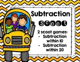 Subtraction Scoot
