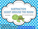 Subtraction Scoot Activity