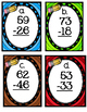 Two-Digit Subtraction Scoot (With and Without Regrouping)