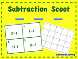 Subtraction Scoot Game/ Task Cards