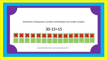 Subtraction Scoot Game With Mini Lesson