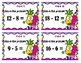 Subtraction Scoot - Pineapple Buds - Numbers to 20