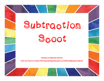 Subtraction Scoot (up to 20)