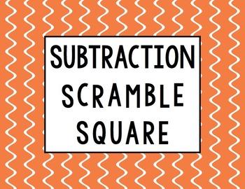 Subtraction Scramble Square