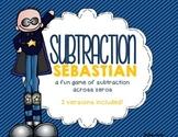Subtraction Sebastian (a subtracting across zeros game)