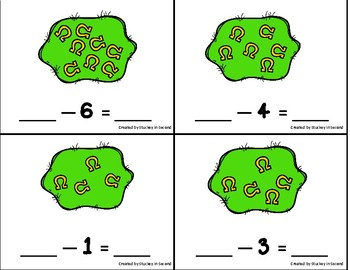 Subtraction Sentence Center: Building Equations {St. Patrick's Day Edition}