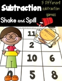 Subtraction Shake & Spill