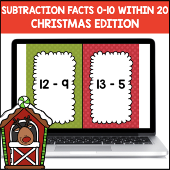 Subtraction Shout It Out (Christmas Edition)