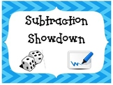 Subtraction Showdown and Addition Admission