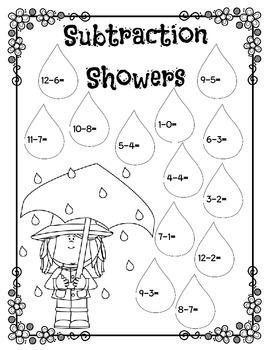 Subtraction Showers