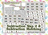 Subtraction Slap It!! Subtraction game