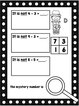 Subtraction Sleuth