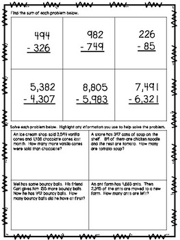 Subtraction Small Group Lesson