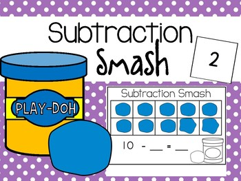 Subtraction Smash By Kate In Kinder Teachers Pay Teachers