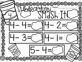 Subtraction Smash It!