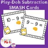 Subtraction Smash Mat Cards