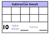 Subtraction Smash Template