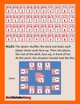 Subtraction-Snake & Division-Snake {Math Game}