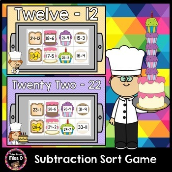 Subtraction Sort Game