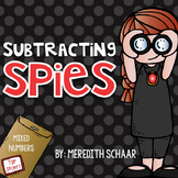 Subtracting Spies - Subtracting Mixed Numbers