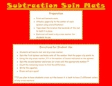 Subtraction Spin Mats