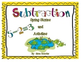 Subtraction:  Spring Stories and Activities