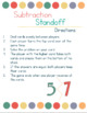 Subtraction Standoff (Game for subtraction)