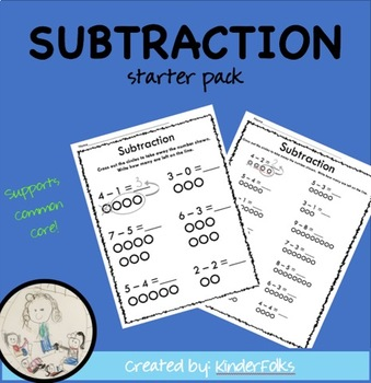 Subtraction Starter Pack FREEBIE