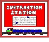 Subtraction Station for Smart Board