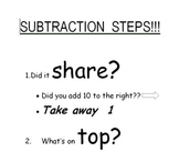 Subtraction Steps